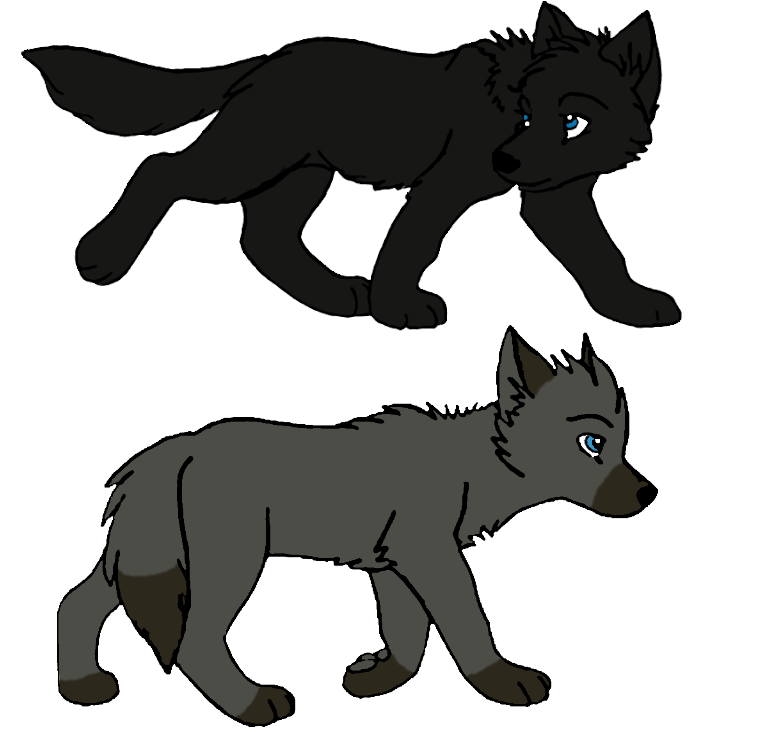 Derek and Karma's pups Luvena_and_lelio_by_horseg27-d3cempv