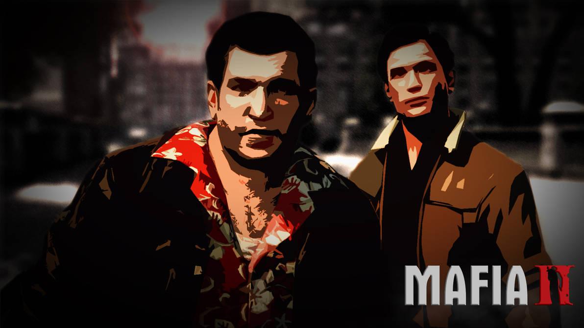 Mafia 2 Vito And Joe Desktop Wallpaper By Flumph Art On Deviantart