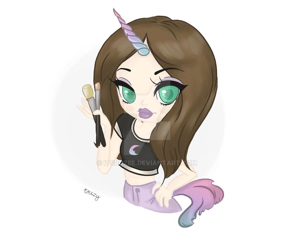 The Beauty Unicorn Girl by itsrozee