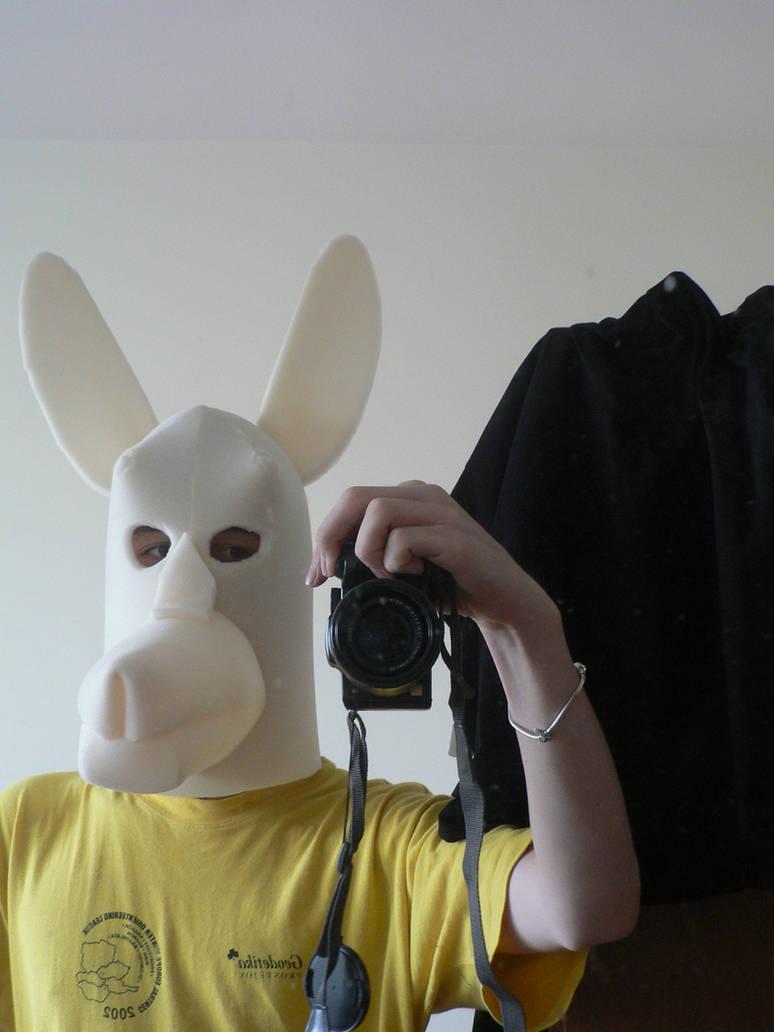 Llama costume/ fursuit head WIP (2) by Ilirej on DeviantArt