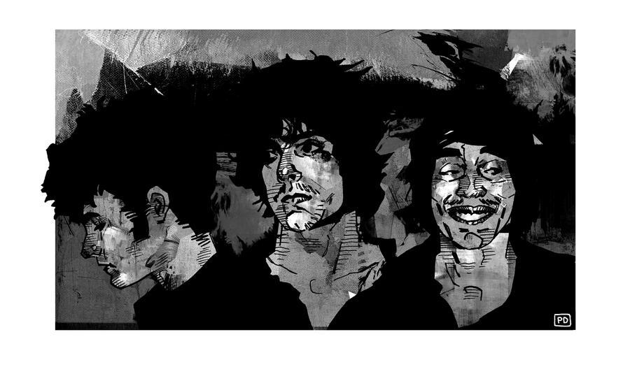 Black rebel motorcycle club by patriciodelpeche