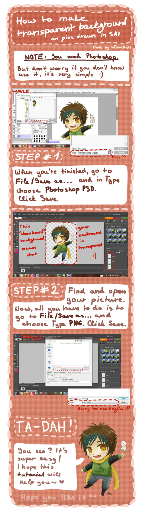 TUTORIAL: Transparent Background On SAI Picture by DokuDoki on ...