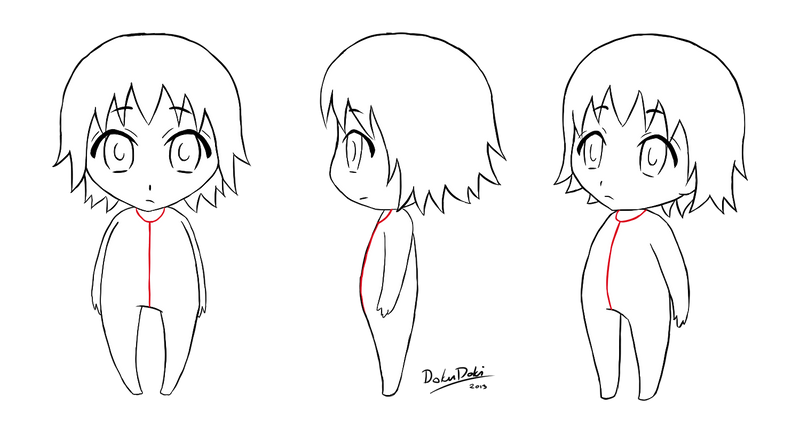 Yamio Lineart : The gallery for gt chibi boy base