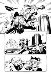 TMNT-Michelangelo p.21 by andykuhn