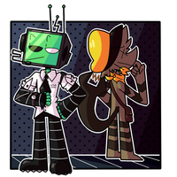 [FORTUNA OCs] Ross and Harold! by SinnerDevil