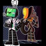 [FORTUNA OCs] Ross and Harold!