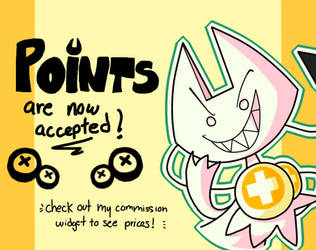 Point Commissions are now available too! [OPEN] by SinnerDevil