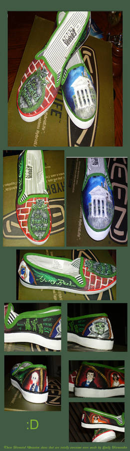 Haunted Mansion Shoes COMPLETE