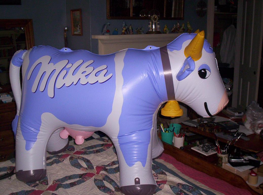 Milka Cow by Scalyaerate on DeviantArt