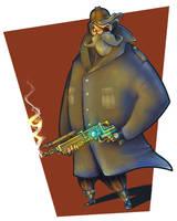 Steampunk Pirate II by krzyma