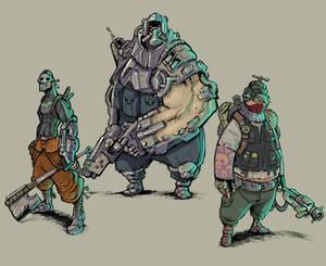 Cyberpunk concepts 2