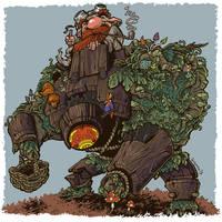 Mushroom seeker by krzyma