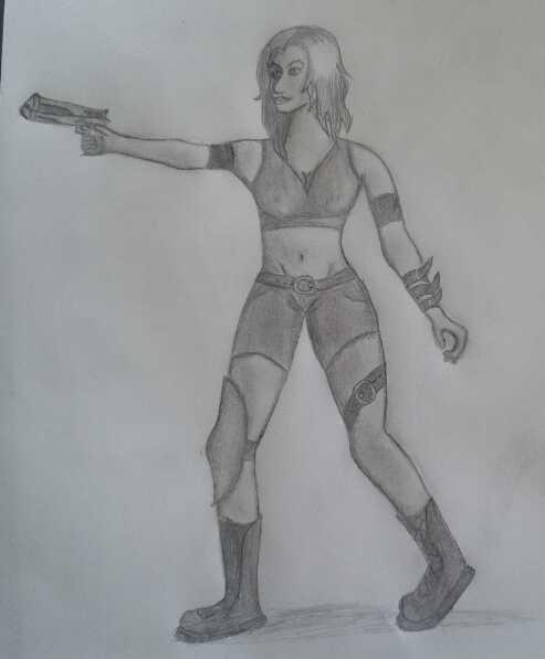 random ugly drawing by beginerbrony