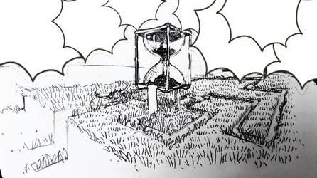 flowing sketch by Garoniel