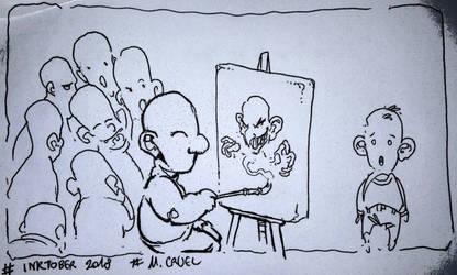 cruel sketch by Garoniel