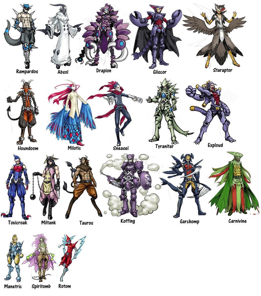 Cool Pokemon Guys 255028252