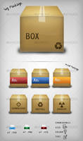 Package Icon Set by BlueX-Design