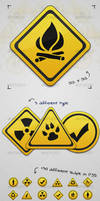 Signs Icons by BlueX-Design