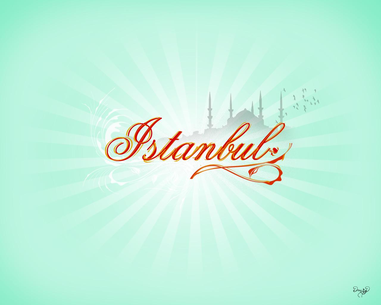 İstanbul logo çalışmam