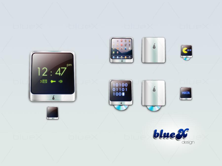 Tablet icon tasarımım