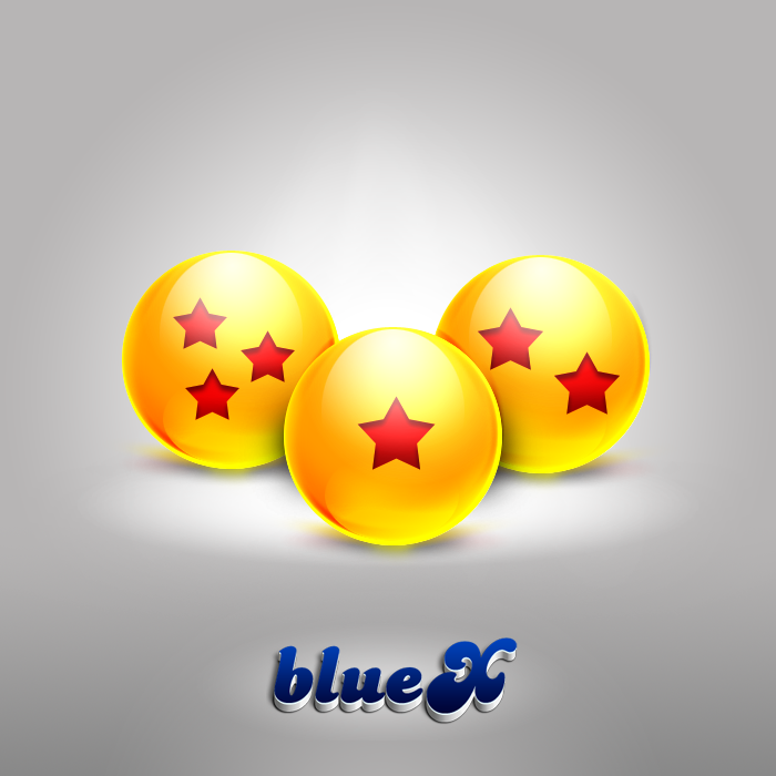 Dragonball Gloss icon Triple by BlueX-Design