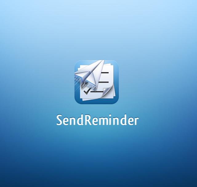 SendReminder uygulama ikon �al��mas�