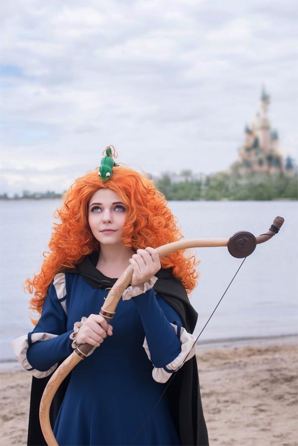 Princess Merida and Pascal by TimmyFrost
