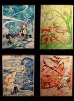 The Four Seasons by Dakiedoodles