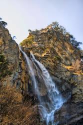 Waterfall Uchan-Su. Ukraine by Yojikpower
