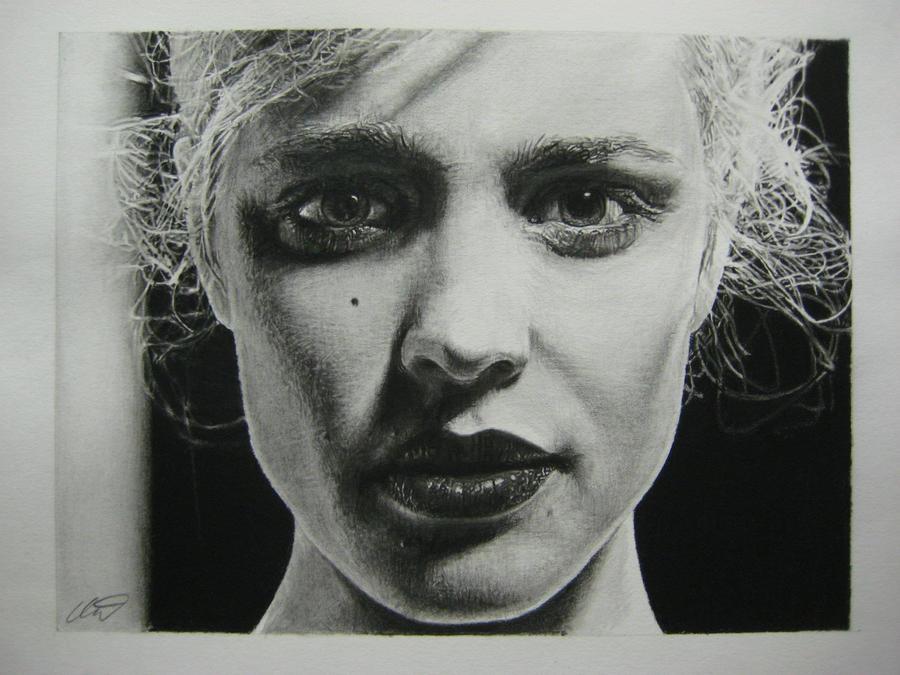 Rachel McAdams pencil drawing by derektwilt