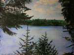 Bat Lake Watercolor