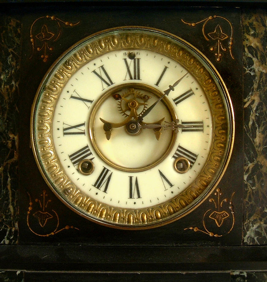 Clock Face by tia-stock