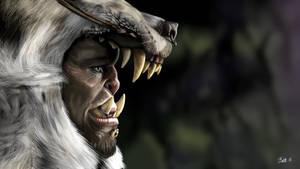 Warcraft - Durotan GIMP Drawing