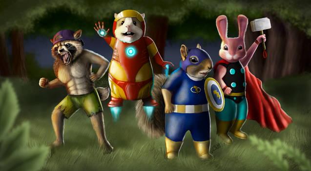 Mammal Camp Superheroes