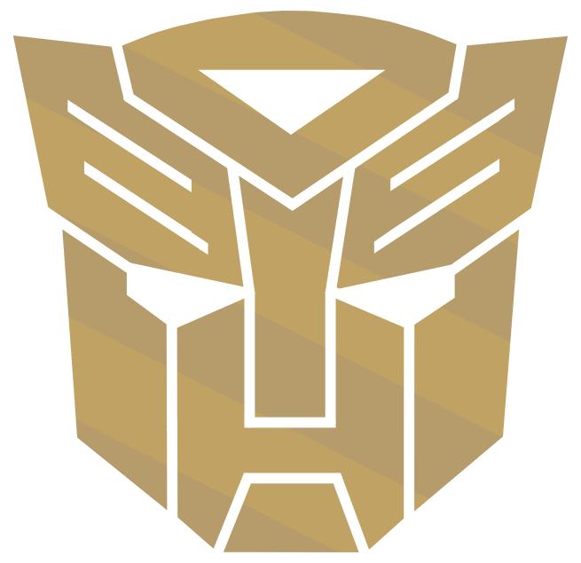 Golden Autobot logo by rodriguis - 55.1KB
