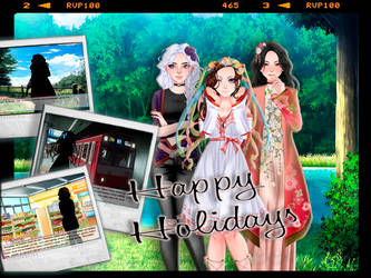 Happy Holidays) by ggg805