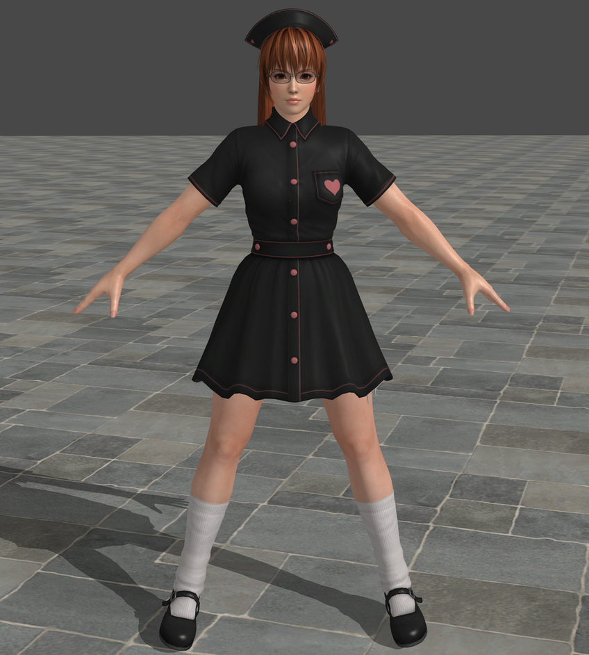 dead or alive 5 ultimate nurse phase4 by