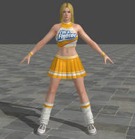 Dead or Alive 5 Ultimate - Cheerleader - Helena by Irokichigai01