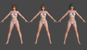 DOAX3 -Lacerta- Pack 1