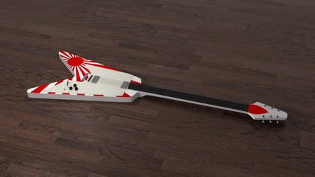 Rising Sun Tokai Flying V Electric Guitar