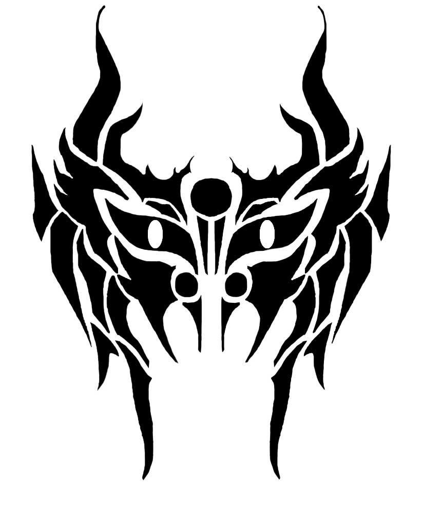 Tribal Mask By 2facedphantom On Deviantart