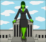 Jade Giantess at law by Nightcore100