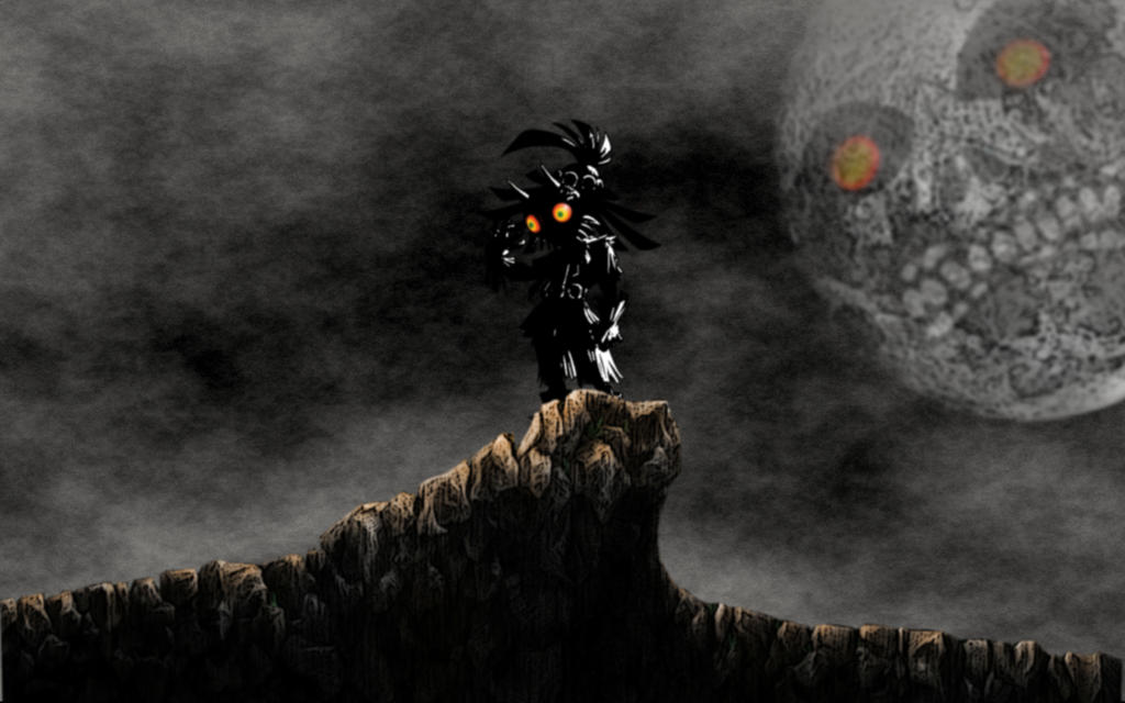 Skull Kid And Majoras Mask By Scrainer