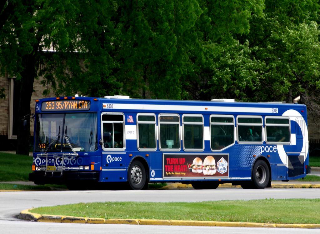 Pace Suburban Bus 6303 by JamesT4