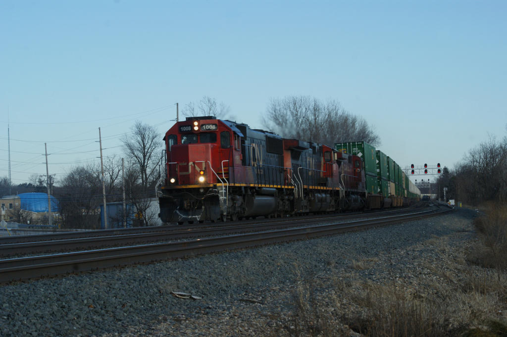 205 westward with Canadian  Power by JamesT4