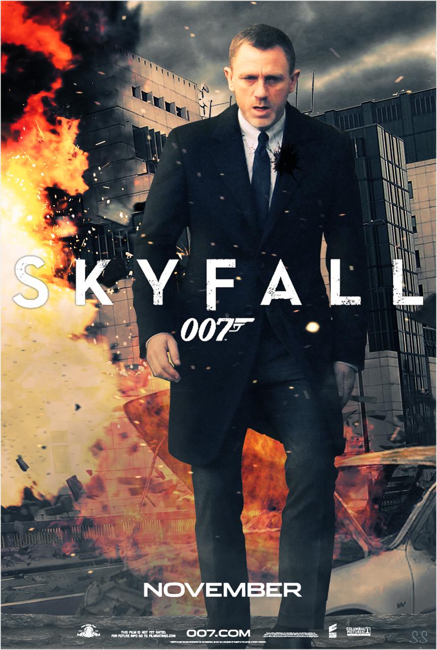 Skyfall Poster Revealed  The Official James Bond 007 Website