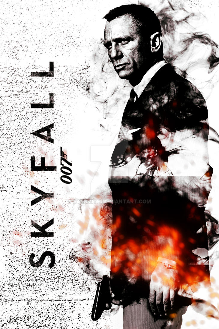 Skyfall Poster by SteSmith