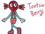 Tootsie Berry Cuphead OC by TheChosenDreamGirl