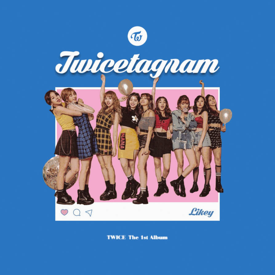 TWICE LIKEY / TWICETAGRAM album cover by LEAlbum on DeviantArt