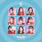 TWICE CANDY POP / JAPAN 2ND SINGLE album cover